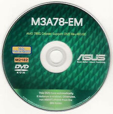 ASUS M3A78-EM Motherboard Drivers Installation Disk  M2182