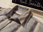 "PAUL SMITH Mens Shirt 🌍 Size M (CHEST 42"") 🌎 RRP £95+ 🌏 FLORAL JACQUARD"