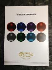 2015 Martin String Catalog