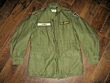 EUC US Army M1951 Small 1st Lt Eary Vietnam FIELD JACKET w/ white name tag 1958