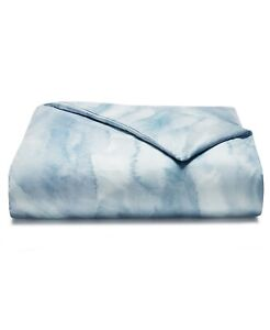 Hotel Collection KING Duvet Cover Ethereal Pima Cotton Blue 307