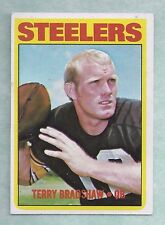 1972 Topps #150 Terry Bradshaw Pittsburgh Steelers EX-MT Plus