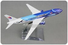 Malaysia Freedom Of Space BOEING 777  Passenger Airplane Plane Diecast Model