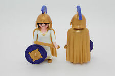 Playmobil LA Adventure Figurine Greek woman Athene Cape Helmet Shield