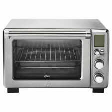 Oster Large Digital Countertop Convection Toaster Oven, Stainless Steel NEW