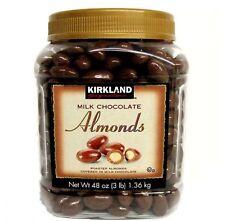 Kirkland Signature Milk Chocolate Almonds 48 oz Fresh