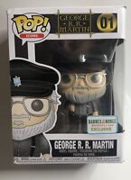 Funko Pop! Icons George R.R. Martin 01 Barnes and Noble Exclusive Figure