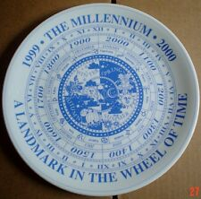 Un Named Collectors Plate THE MILLENNIUM - A LANDMARK IN THE WHEEL OF TIME