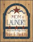 Art Print, Framed or Plaque by Linda Spivey - Mom's Laundry - LS610-R