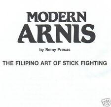CD - Modern Arnis -Filipino Stick Fightin Self Defence -  eBooks (Resell Rights)