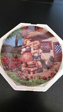 """Hummel Collector Plate Danbury Mint """"Squeeky Clean"""" Certificate Limited Edition"""
