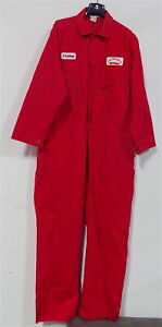 Berne Red Deluxe Coveralls , Jumpsuits , Size 50R , XL   #2