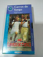 Carros de Fuego Hugh Hudson - VHS Cinta Tape Español Nueva - 2T