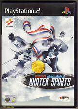 PS2 ESPN International Winter Sports (2002), UK Pal Version, Brand New