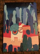 Llama Cactus iPad Case 9.7 iPad Air 2 with Auto Sleep Wake Function Smart Case