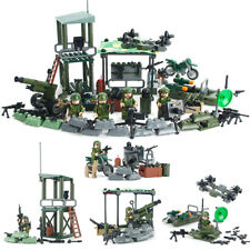 317pcs Jungle Army Soldier Military Army Building Blocks Brick Puzzle Model Toy