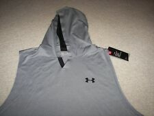 Under Armour Heat Gear Men's Sleeveless Hoodie Shirt Jacket NWT XL