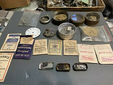 and Parts lot Huge pocket watch