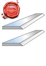 2 Fers de dégauchisseuse HSS 18% en 310 x 20 x 2.5 mm - Top qualité !