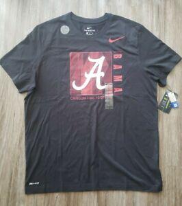 Nike Alabama Crimson Tide Shirt Adult Extra Large BAMA Dir-Fit
