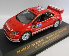 Ixo 1/43 Scale RAM202 PEUGEOT 307 WRC #7 WINNER RALLY FINLAND 2005