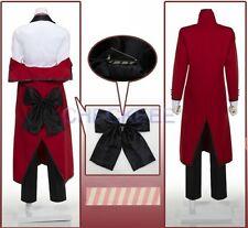 Black Butler Shinigami Grell Sutcliff Uniform Cosplay Costume
