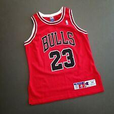 100% Authentic Michael Jordan Vintage Champion Bulls Jersey Size 44 L Mens