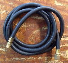 Propane, Natural Gas Flex Hose 10 ft. with 3/8 Flare Fitting & 1/4 Male Pipe