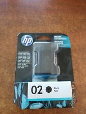 Genuine HP 02 Black Ink Photosmart 3110 C5140 C5150 C6100 8230 8250 (Retail Box)