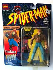 Toy Biz SPIDER-MAN THE New ANIMATED SERIES Peter Parker With Camera NIB 1994