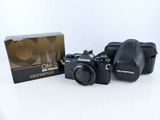 OLYMPUS OM2 SP SPOT PROGRAM  35MM FILM MANUAL ADAPTER SLR CAMERA BODY NICE