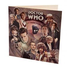 Doctor Who - Blank Greetings Card
