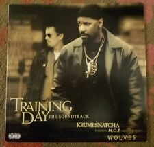 """Krumbsnatcha feat. M.O.P. WOLVES 12"""" vinyl single (used) Training Day NM"""