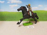 Britains ACW deetail Confederate cavalry trooper bugler (lot 3175)
