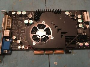 Geforce FX 5900XT AGP, 128MB 256bit DDR1 RAM
