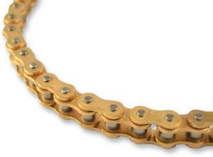 EK Chain 420 SH Motocross Series Chain - 120 Links - Gold Gold 420SH-120/G Chain