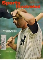 1965 Sports Illustrated June 21-Mickey Mantle - Decline and fall of the Yankees