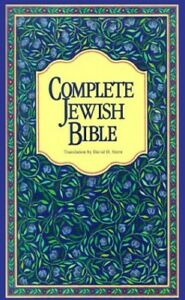 Complete Jewish Bible-OE Book The Fast Free Shipping