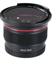 0.35 x DSLR Fisheye Wide Angle Macro Lens - 58mm Canon Nikon Sony HD Camera Lens