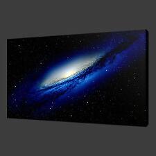 GALAXY SPACE STARS MODERN ART PICTURE PHOTO CANVAS PRINT 20 x 16 Inch WALL ART