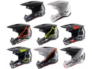 Alpinestars SM5 Motocross Helmet Adult Sizes Motorcycle Riding MX ATV Offroad