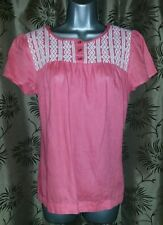 Marks and Spencer Linen Collarless Casual Women's Tops & Shirts