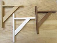 in legno legname -TRADIZIONALE stile antico da parete Mensola staffe di supporto