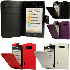 Unbranded/Generic Synthetic Leather Mobile Phone Cases, Covers & Skins for LG