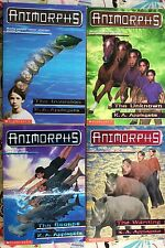 Lot of 4 Animorphs: #1, 14, 15 & 16 by K. A. Applegate Good Paperback