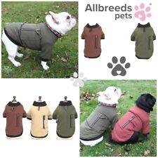 Allbreeds Dog Bomber Jacket Zip Winter Coat Puppy French Bulldog Jumper Pug XS