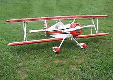 Super Aeromaster Aerobatic Sport Biplane  Plans, Templates and Instructions 52ws