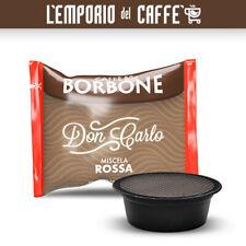 100 Capsule Caffe Borbone Don Carlo Miscela Rossa Red Compatibili A Modo Mio