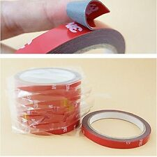 High Quality 3M Car Auto Double Foam Faced Adhesive Sticker Tape12mm x10 Meter//