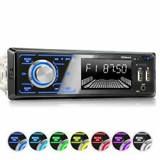Autoradio Bluetooth SD USB Aux In Equalizer Verschiedene BeleuchtungsFarben